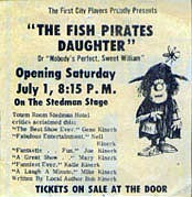 Fish Pirate's Daughter poster