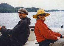 Bob and Anne fishing